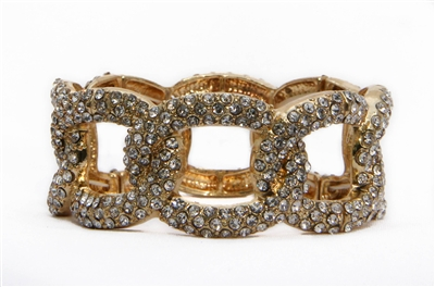 glitzy stretch bracelet